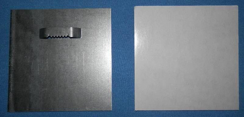 Držák 10 x 10 cm se zoubky na průlisu Pikolo PKP s.r.o.