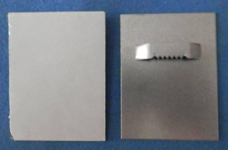 Držák 6 x 8 cm se zoubky na průlisu Pikolo PKP s.r.o.