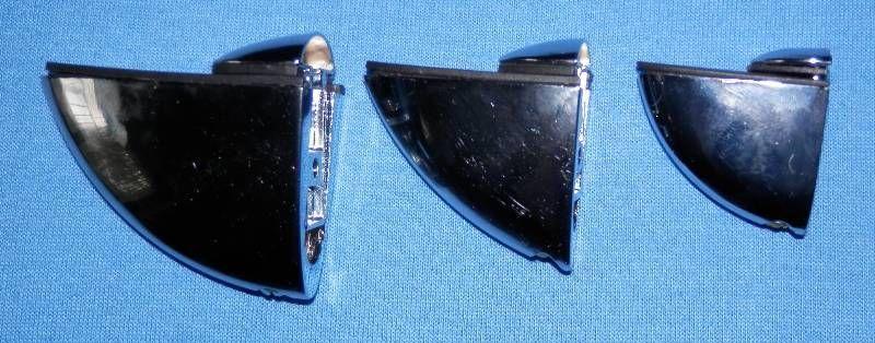 Držák TUKAN 54 mm, Chrom sleva při 10ks