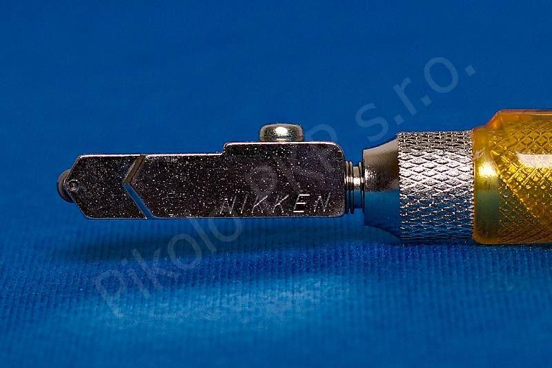 Nikken - náhradní hlava úzká pro sílu skla 6 - 12 mm