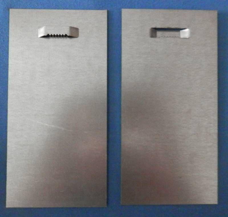 Plech 10 x 20 cm se zoubky na průlisu Pikolo PKP s.r.o.