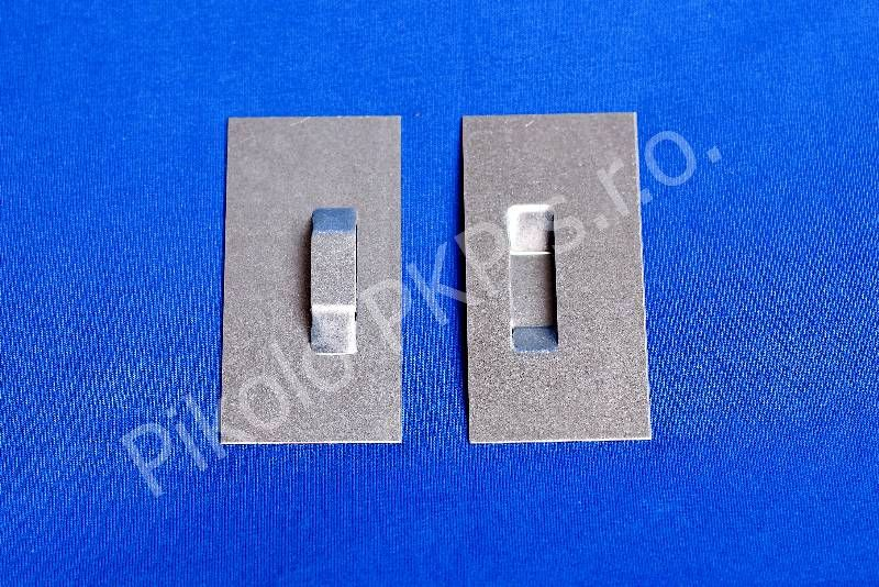 Plech 4-4,5cm x 8 cm sleva při 100ks Pikolo PKP s.r.o.