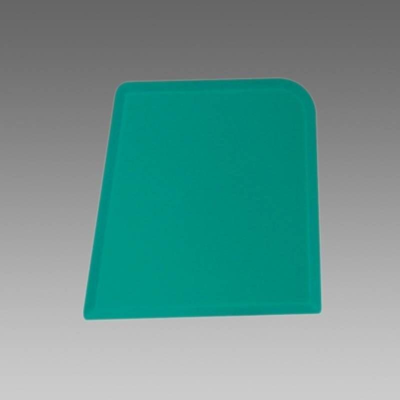 Stěrka na silikon čtyřhranná - zelená